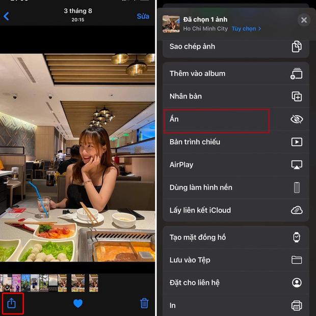 Tính năng của iOS 14 giúp giấu luôn Album ẩn trên iPhone, tha hồ che giấu ảnh và video nhạy cảm - Ảnh 2.