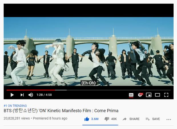Dynamite của BTS chính thức đạt top 1 trending Việt Nam sau 14 tiếng: thành tích kém xa BLACKPINK, thậm chí thua cả chính mình? - Ảnh 5.