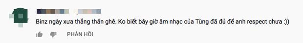 Cộng đồng mạng bất ngờ đào lại đoạn clip Binz nói về Sơn Tùng M-TP: Nhạc hay nhưng chưa đủ để tôn trọng - Ảnh 5.