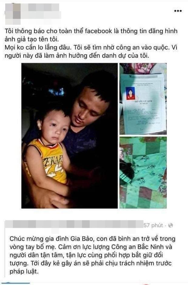 Người phụ nữ vô tình nhận cả loạt chỉ trích vì bị hiểu nhầm là đối tượng bắt cóc bé trai 2 tuổi ở Bắc Ninh - Ảnh 1.