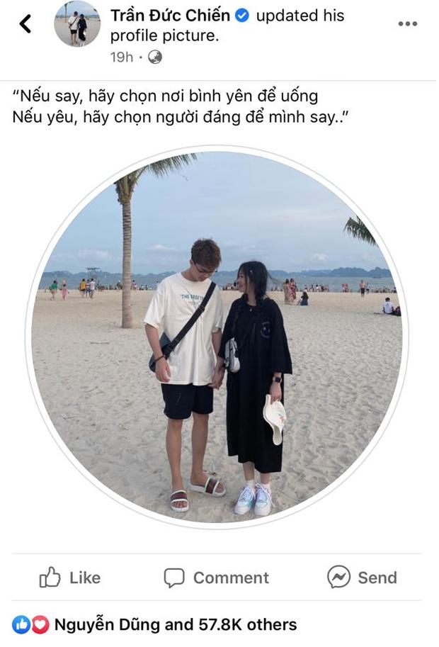 Mặc fans đoán già đoán non, ADC vẫn cứ đăng ảnh, thả caption ngọt lịm cùng hot TikToker Kim Chung Phan - Ảnh 1.