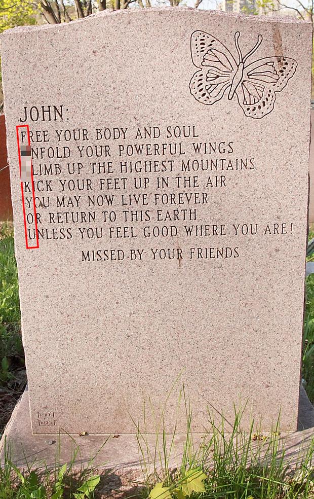 19 câu hài hước trên bia mộ của những người đã khuất nhưng độ lầy thì trường tồn cùng thời gian - Ảnh 13.