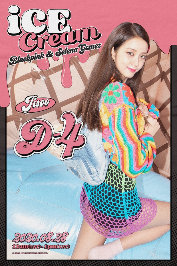 BLACKPINK vừa tung clip với Selena Gomez, nữ thần Jisoo đã khuấy đảo MXH: Đẹp đến mức bất chấp gif mờ căm! - Ảnh 7.