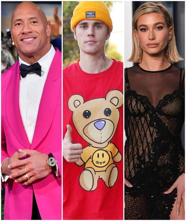 Justin Bieber - Hailey cùng khoe ảnh bế thiên thần nhỏ, The Rock vào chúc mừng và dự đoán luôn thời điểm cặp đôi có con - Ảnh 5.