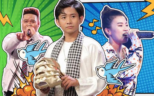 Dàn thí sinh Rap Việt và King Of Rap chơi chiêu làm mới loạt hit thiếu nhi: Người khiến HLV điên đảo, kẻ ê chề nhận ý kiến chỉ trích - Ảnh 1.
