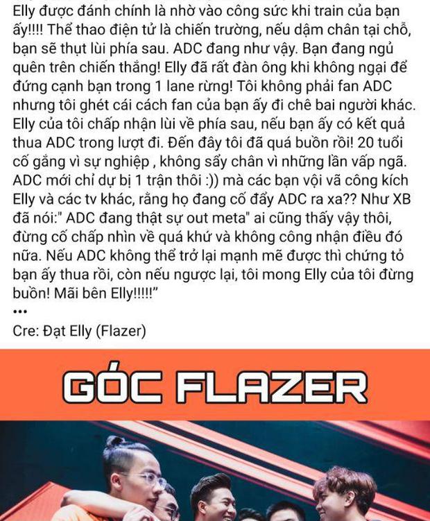 Người cũ của Team Flash lại gây nên sóng gió, tâm điểm cũng lại là Elly và ADC! - Ảnh 2.