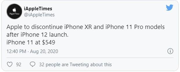 Hàng loạt mẫu iPhone cũ sẽ giảm giá cực sâu sau khi iPhone 12 ra mắt - Ảnh 1.