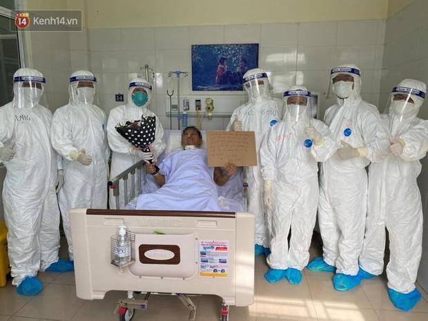 Bệnh nhân mắc Covid-19 thập tử nhất sinh được xuất viện: Cảm ơn các bác sĩ đã đưa tôi từ cõi chết trở về - Ảnh 2.