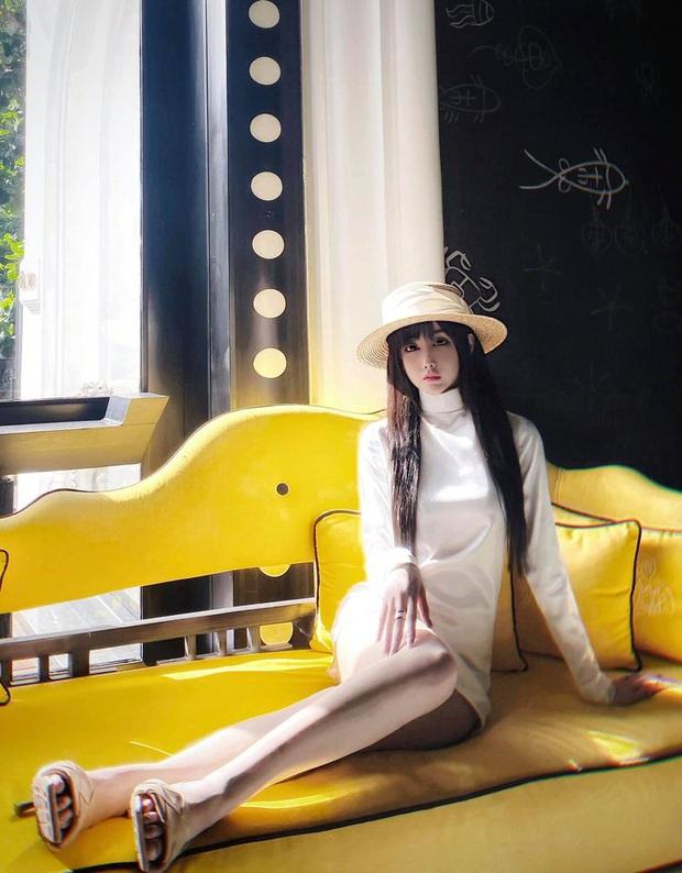 Bạn gái Karik bị soi chỉnh ảnh sống ảo quá tay đến mức đầu gối bay màu, nhưng cách giải thích lại khiến netizen thích thú - Ảnh 5.