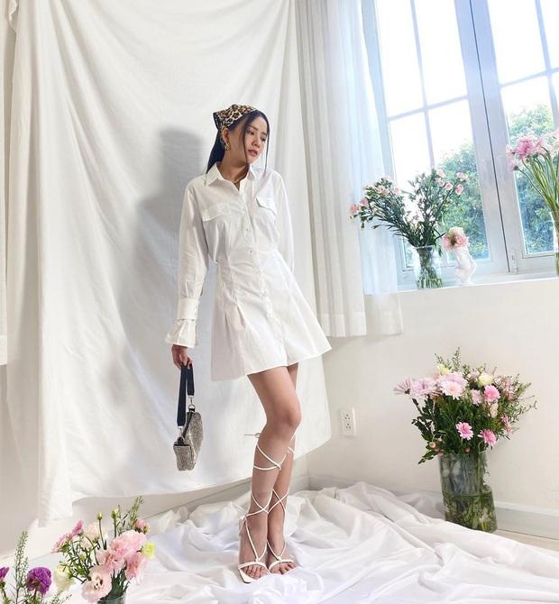 10 mẫu váy liền diện đi chơi cũng xinh mà đi học cũng ổn, cứ sắm theo thì đố ai chê được style của bạn - Ảnh 13.