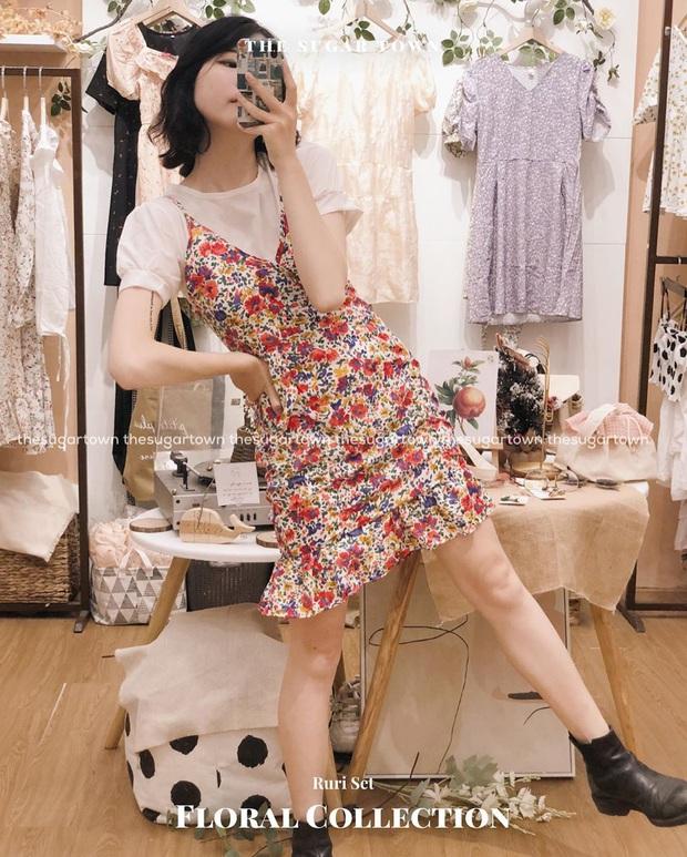 10 mẫu váy liền diện đi chơi cũng xinh mà đi học cũng ổn, cứ sắm theo thì đố ai chê được style của bạn - Ảnh 3.