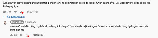 """Bị Võ Hà Linh chỉ thẳng mặt là """"lươn lẹo"""", """"không dùng sản phẩm mà review như đúng rồi"""", Call Me Duy nói gì? - Ảnh 3."""