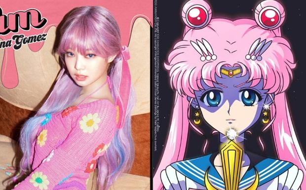 BLACKPINK tung teaser mới, mái tóc hồng Thủy thủ Mặt Trăng của Jennie không gây choáng bằng màn o ép vòng 1 nghẹt thở của Rosé - Ảnh 7.