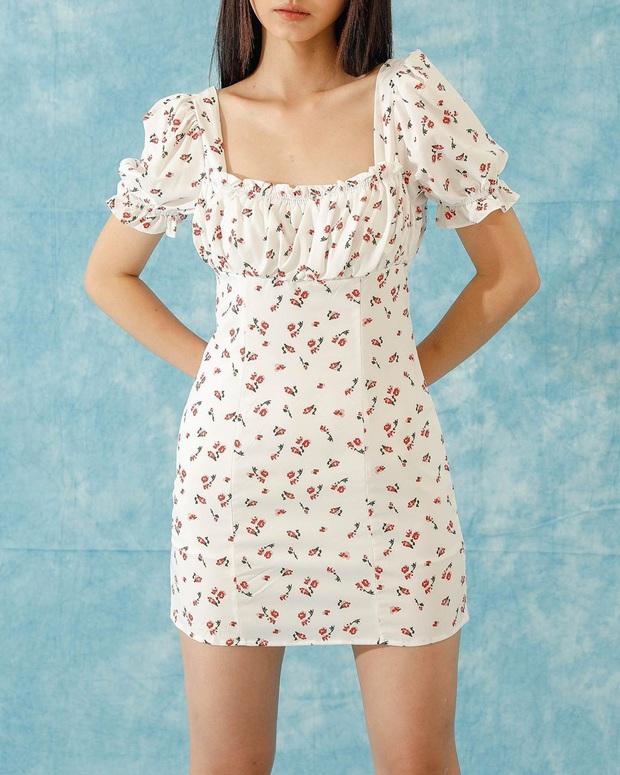 Hiếm lắm mới thấy Song Hye Kyo diện váy Zara, đáng nói là còn chịu khoe vòng 1 lấp ló - Ảnh 9.