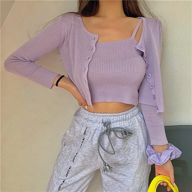 5 kiểu áo xinh - rẻ nhưng lại làm nên outfit sành điệu của hội gái xinh Instagram, không đu theo hơi phí  - Ảnh 9.