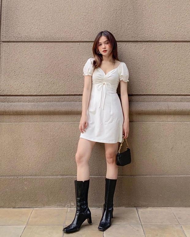 Hiếm lắm mới thấy Song Hye Kyo diện váy Zara, đáng nói là còn chịu khoe vòng 1 lấp ló - Ảnh 11.