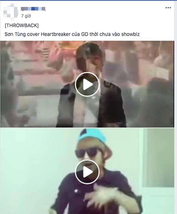 Dân mạng bỗng đào lại clip Sơn Tùng M-TP cover Heartbreaker, tất cả đều đồng lòng: Phong cách chuẩn G-Dragon! - Ảnh 3.