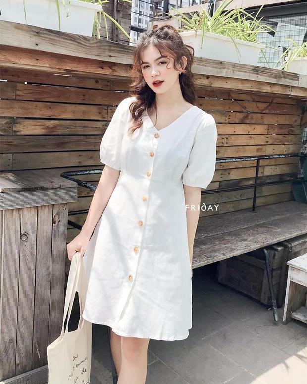 10 mẫu váy liền diện đi chơi cũng xinh mà đi học cũng ổn, cứ sắm theo thì đố ai chê được style của bạn - Ảnh 9.