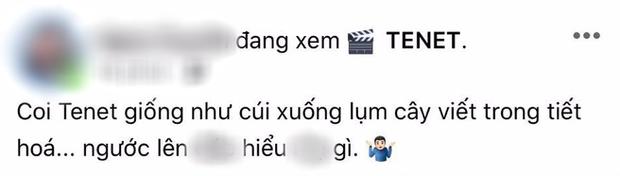 Khán giả Việt review nóng bom tấn TENET: Cảm giác như học Lý Hoá, cúi xuống nhặt bút ngước lên đã ngừng hiểu! - Ảnh 2.