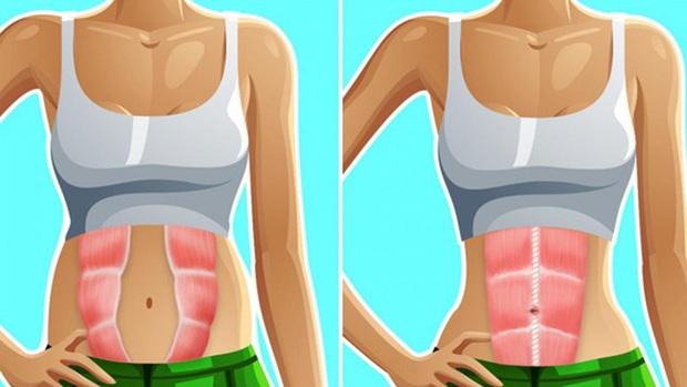 Nữ blogger khoe giảm được 1-2cm vòng eo sau 2 tuần nhờ tập 2 động tác hóp mở bụng - Ảnh 7.