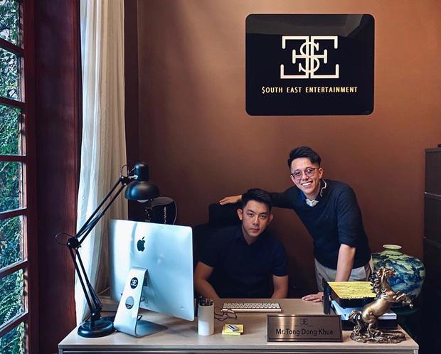 Một bức hình có 2 cực phẩm: Matt Liu - bạn trai Hoa hậu Hương Giang và CEO Tống Đông Khuê - trai đẹp nức tiếng Người ấy là ai - Ảnh 1.