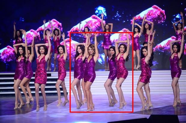 Hot lại khoảnh khắc Phạm Hương, Mai Ngô, Khánh Vân cùng khung hình: Hoa hậu đêm đó quá nổi bật, 1 người 4 năm sau mới đăng quang - Ảnh 2.