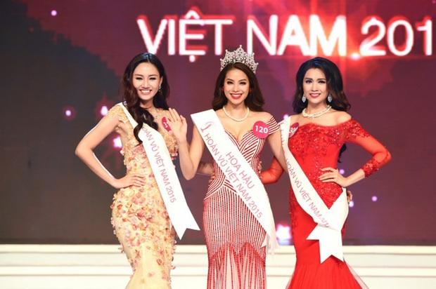 Hot lại khoảnh khắc Phạm Hương, Mai Ngô, Khánh Vân cùng khung hình: Hoa hậu đêm đó quá nổi bật, 1 người 4 năm sau mới đăng quang - Ảnh 5.