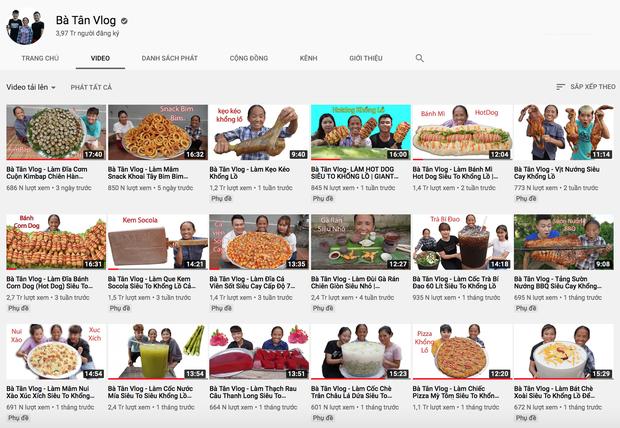 Bất chấp dư luận ném đá, Bà Lý Vlog vẫn ra clip đều đặn và còn vượt mặt cả Bà Tân Vlog - Ảnh 2.