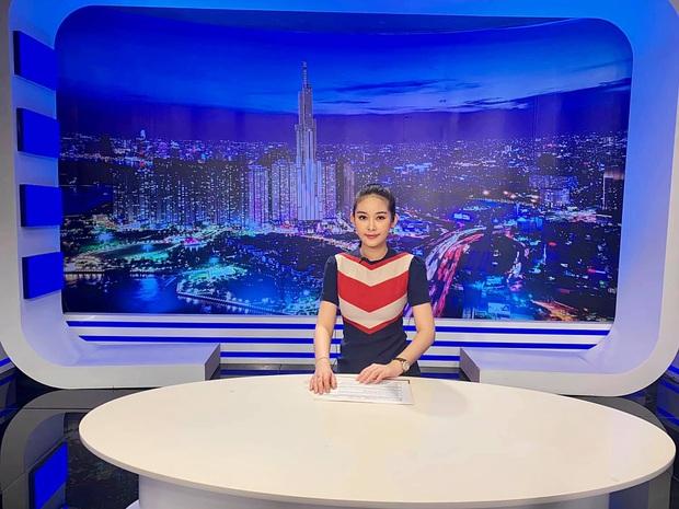 Vừa tuyên bố thành giảng viên Đại học, Lê Âu Ngân Anh tiếp tục gây chú ý khi đá chéo sân làm MC đài truyền hình - Ảnh 3.