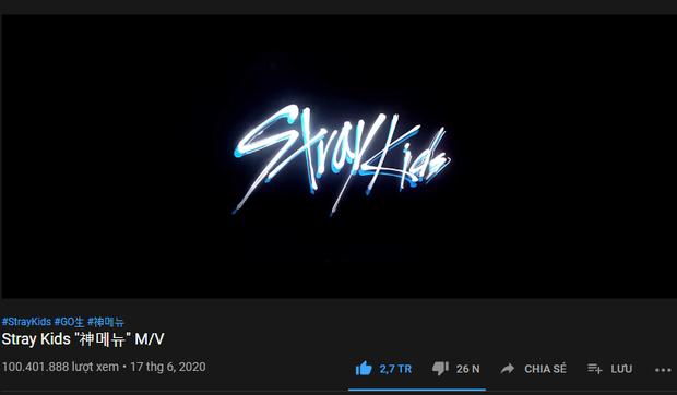 Stray Kids có MV trăm triệu view đầu tiên, thời gian cán mốc vượt mặt GOT7, so với ITZY cũng không phải dạng vừa đâu - Ảnh 1.