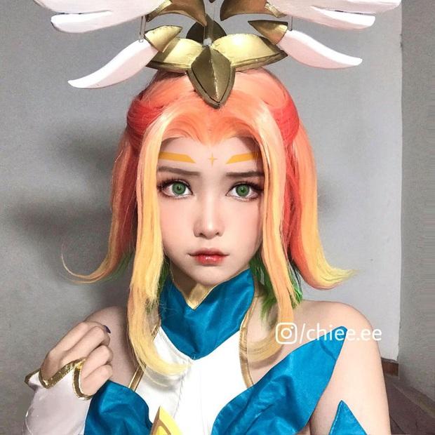 Thánh nữ make-up Thục Chi lại gây thương nhớ với loạt hình cosplay Neeko Vệ Binh Tinh Tú đáng yêu hết nấc - Ảnh 7.