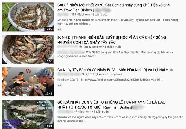 Rùng mình với trào lưu ăn uống man rợ trên YouTube: Câu like rẻ tiền với loạt video ăn cá sống và chất thải động vật? - Ảnh 3.