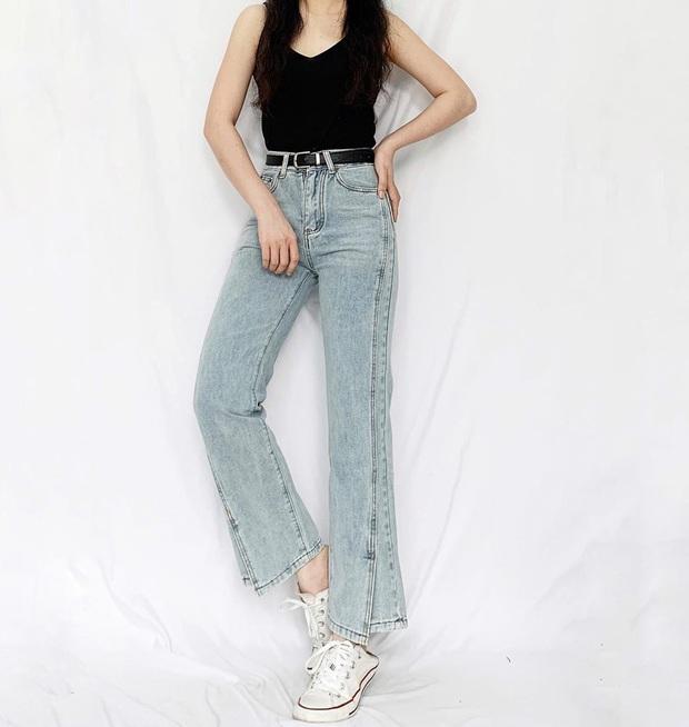 Nhìn Suzy bạn sẽ thấy khả năng tôn chân - dìm dáng một trời một vực giữa quần ống loe và quần ống suông - Ảnh 14.