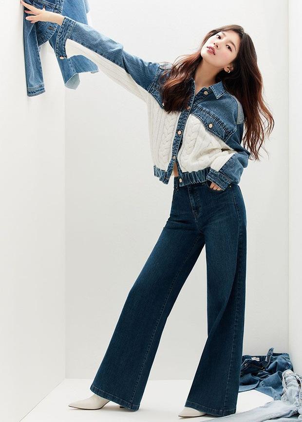 Nhìn Suzy bạn sẽ thấy khả năng tôn chân - dìm dáng một trời một vực giữa quần ống loe và quần ống suông - Ảnh 2.