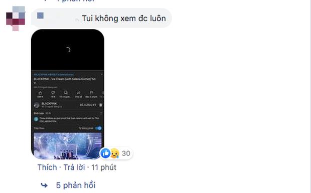 MV Ice Cream lag và sập toàn tập ngay khi lên sóng, lượt xem công chiếu của BLACKPINK cũng vì thế mà bị ảnh hưởng? - Ảnh 3.