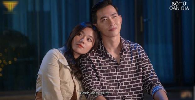 Thu Trang tự luyến cực độ, quyết không cho trai đẹp Võ Cảnh lái máy bay ở  Bộ Tứ Oan Gia tập 2 - Ảnh 6.