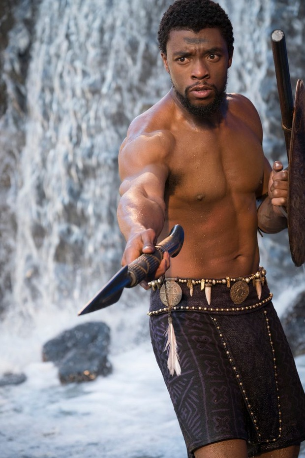 Vừa vật lộn chữa trị ung thư vừa tập luyện và ghi hình Black Panther: Từ mạnh mẽ thật chẳng đủ để nói về Chadwick Boseman - Ảnh 5.