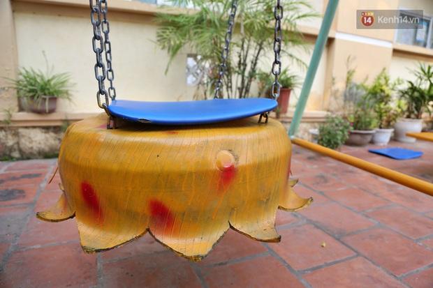 Hà Nội: Đồ phế liệu được tái chế làm khu thư giãn của người lớn, vui chơi miễn phí cho trẻ nhỏ - Ảnh 7.