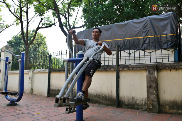 Hà Nội: Đồ phế liệu được tái chế làm khu thư giãn của người lớn, vui chơi miễn phí cho trẻ nhỏ - Ảnh 17.