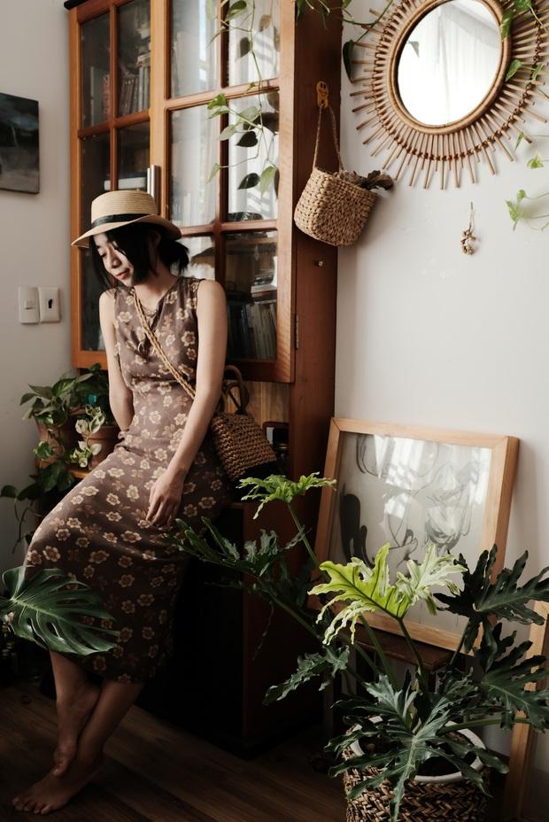 Cô nàng bê nguyên khu vườn vào phòng, góc nào cũng xinh khiến hội sống ảo mê tít - Ảnh 6.