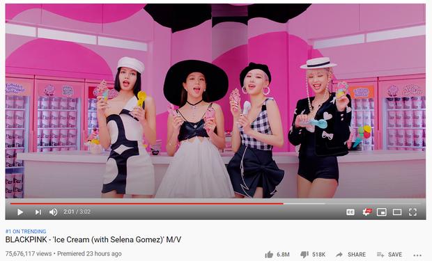 BLACKPINK sau 24 giờ comeback: Thất thế trước BTS trên YouTube, nhiều mảng thụt lùi dù được Selena Gomez giúp sức? - Ảnh 2.
