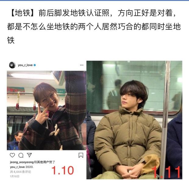 Cnet soi được 1001 bằng chứng V (BTS) hẹn hò sao nhí quốc dân Kim Yoo Jung rõ như ban ngày, còn ở cùng khách sạn? - Ảnh 12.