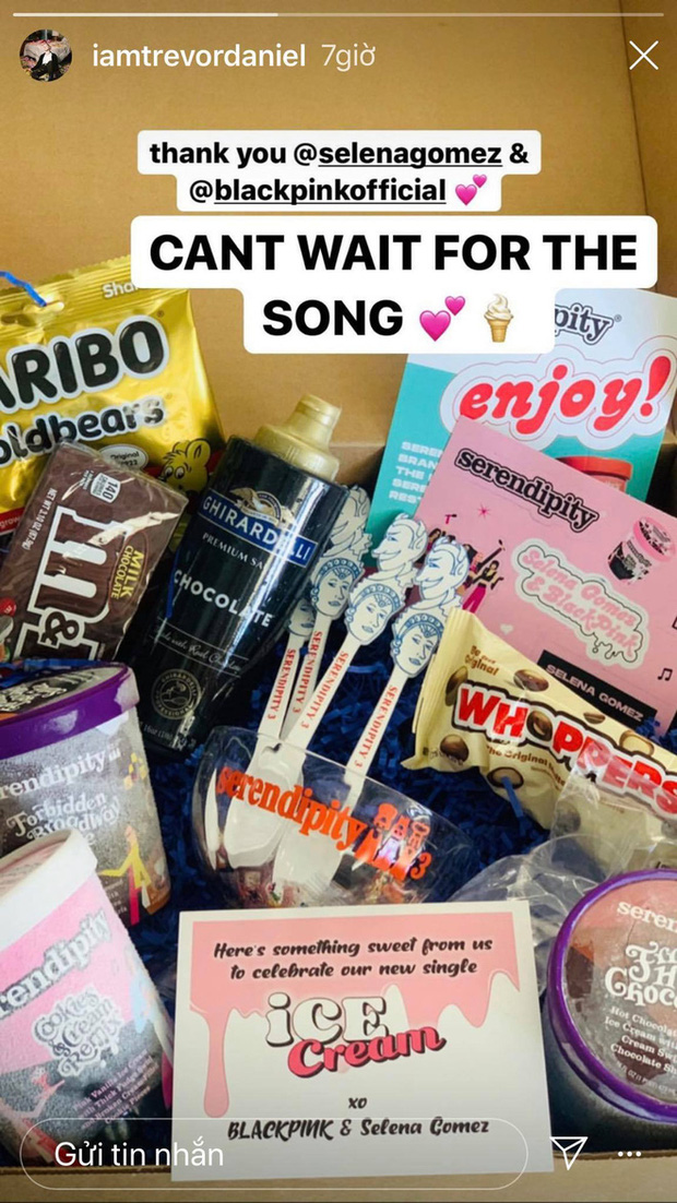BLACKPINK và Selena Gomez lên kế hoạch collab trước 1 năm, tặng quà cho cả showbiz, hợp tác với hãng kem lớn nhưng hiệu quả thì sao? - Ảnh 9.