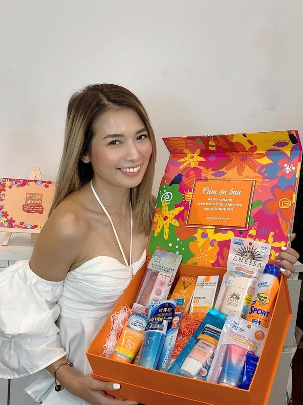 Khám phá hộp quà 9 sản phẩm chống nắng siêu xịn sò từ Guardian cùng Phương Ly - Pretty Much! - Ảnh 1.