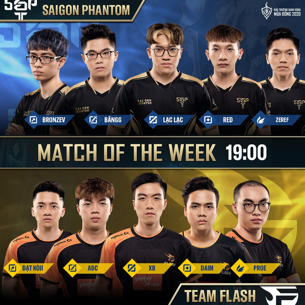 ADC trở lại và đẩy Elly lên ghế dự bị, Team Flash lập tức cắt đứt chuỗi thắng của Saigon Phantom - Ảnh 1.