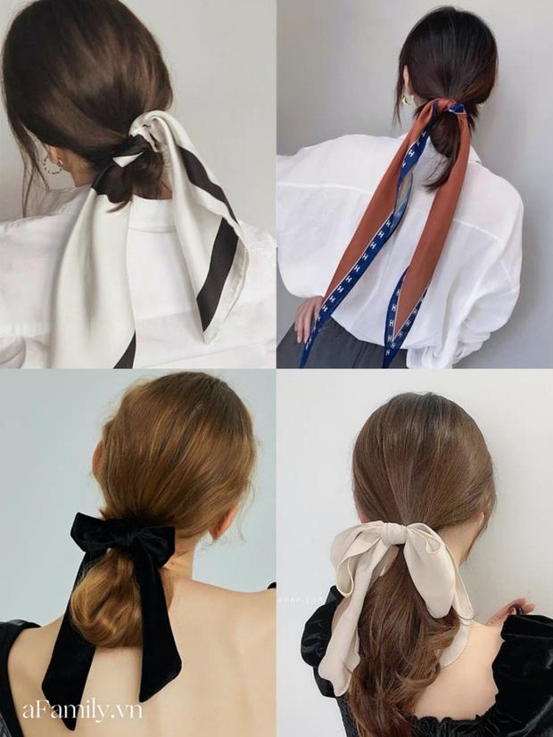 Gái Pháp buộc tóc đuôi ngựa thôi mà nhìn cứ bị mê đắm, hóa ra bí kíp nằm cả ở chiếc khăn thần thánh - Ảnh 2.