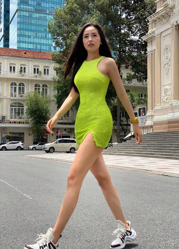 Chân dài dáng chuẩn như Mai Phương Thúy, Tiểu Vy cũng có ngày tự dìm dáng vì lười đóng thùng - Ảnh 9.