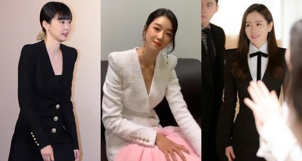 Đụng độ Điên nữ Itaewon Class và Son Ye Jin, bà hoàng sang chảnh Seo Ye Ji vẫn chẳng hề kém cạnh - Ảnh 6.