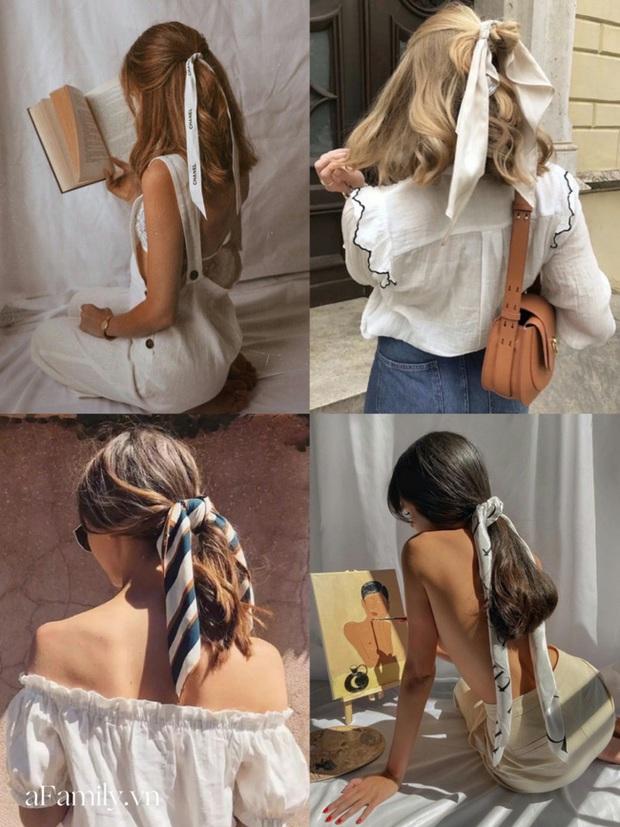 Gái Pháp buộc tóc đuôi ngựa thôi mà nhìn cứ bị mê đắm, hóa ra bí kíp nằm cả ở chiếc khăn thần thánh - Ảnh 6.