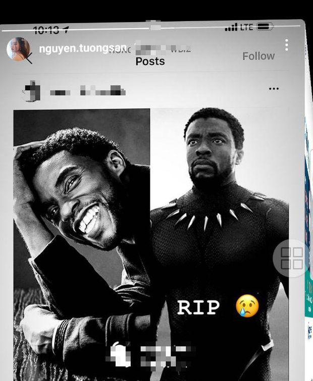 """Dàn sao Avengers, Ariana Grande và loạt nghệ sĩ Việt đau lòng trước sự ra đi của """"Black Panther"""" Chadwick Boseman - Ảnh 12."""